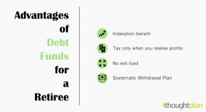 Advantages-of-debt-funds-for-a-retiree-ithoughtplan