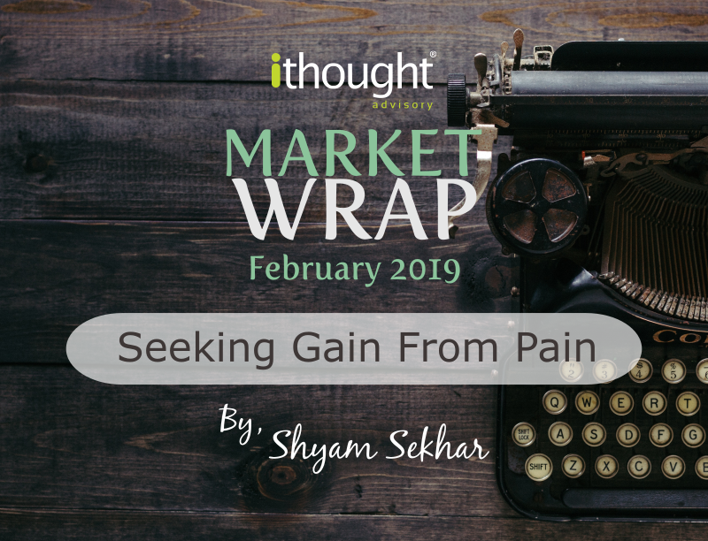 market wrap seeking gain from pain