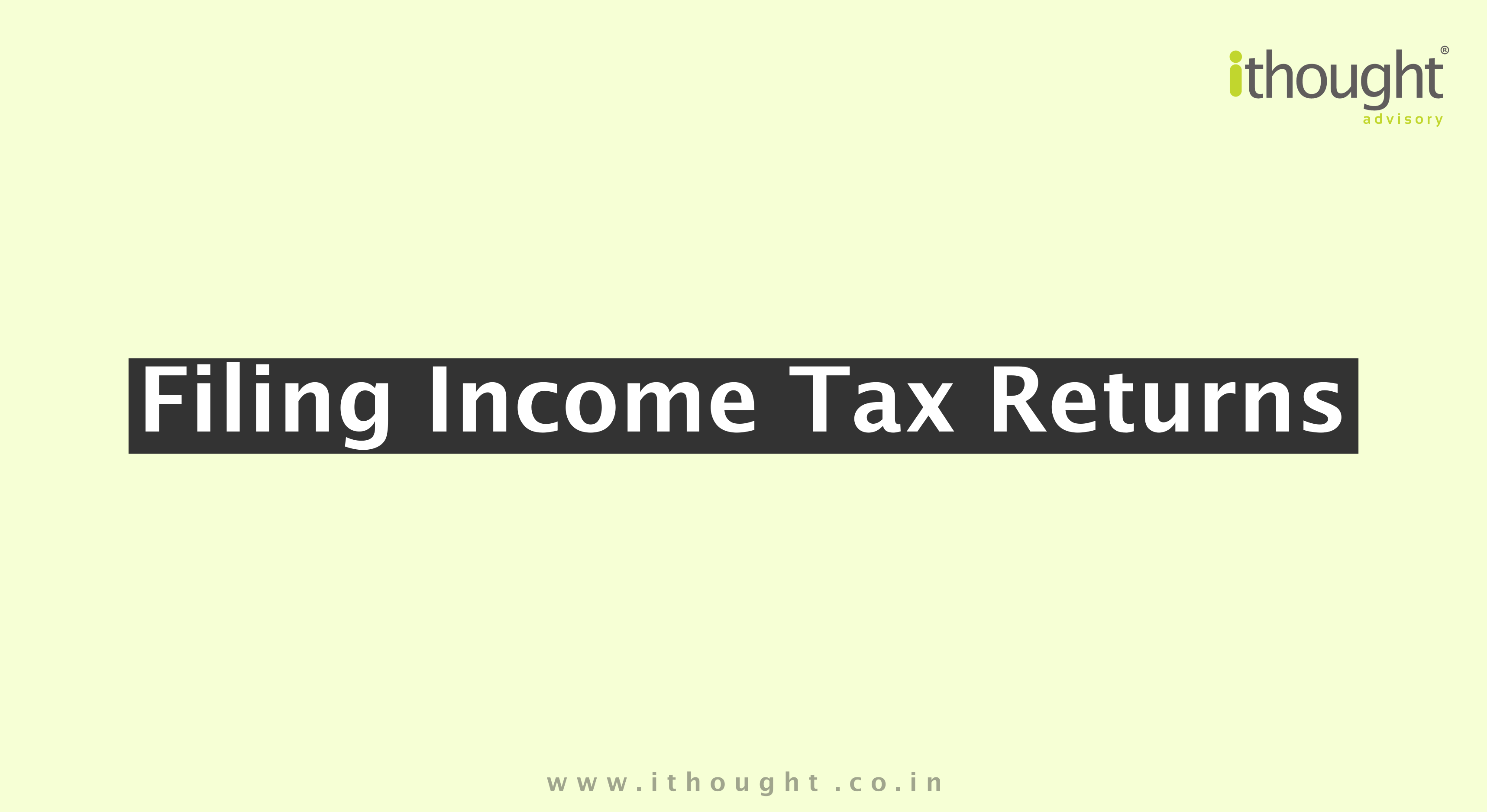 Filing-income-tax-returns