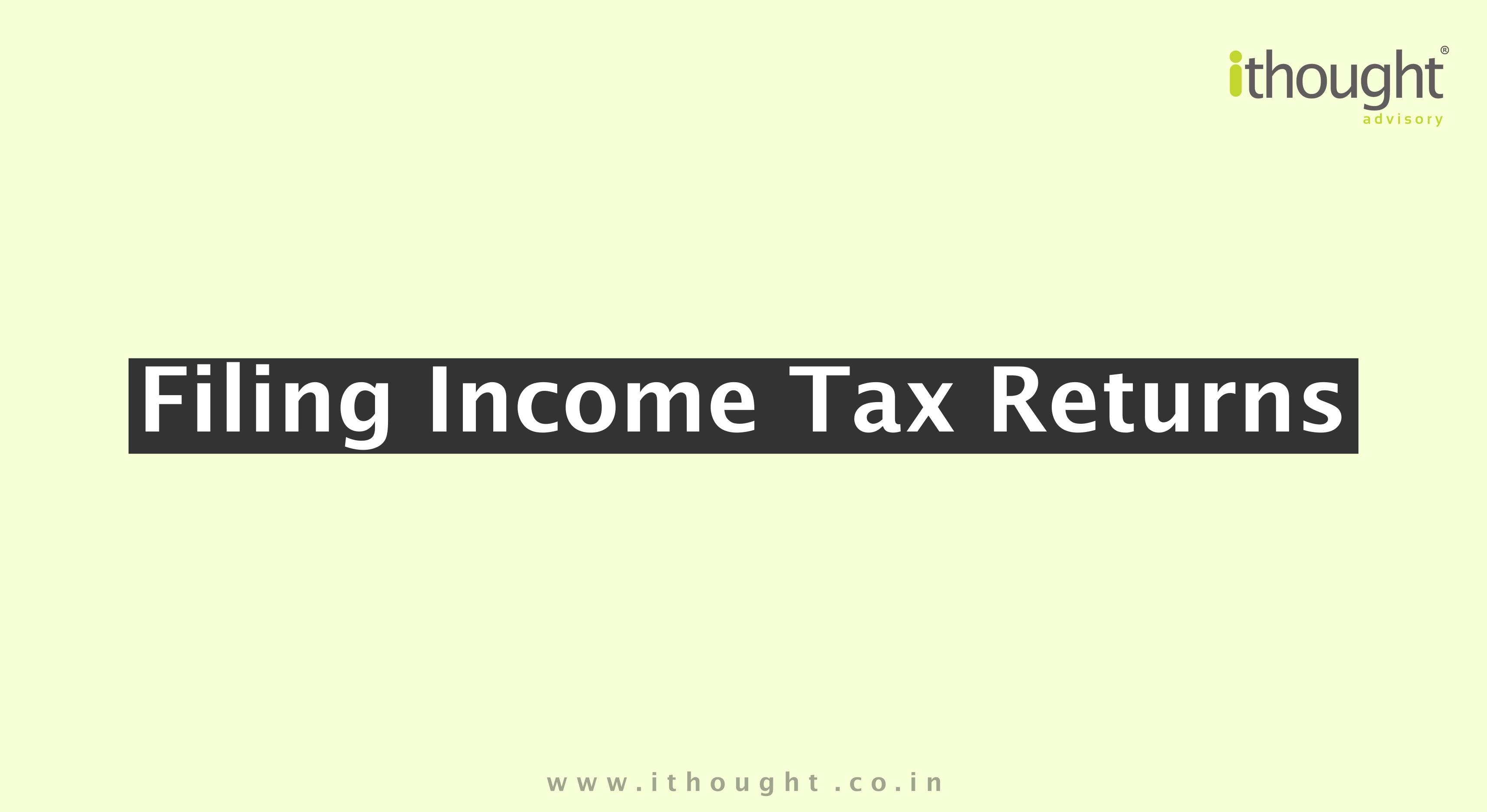 Filing-income-tax-returns