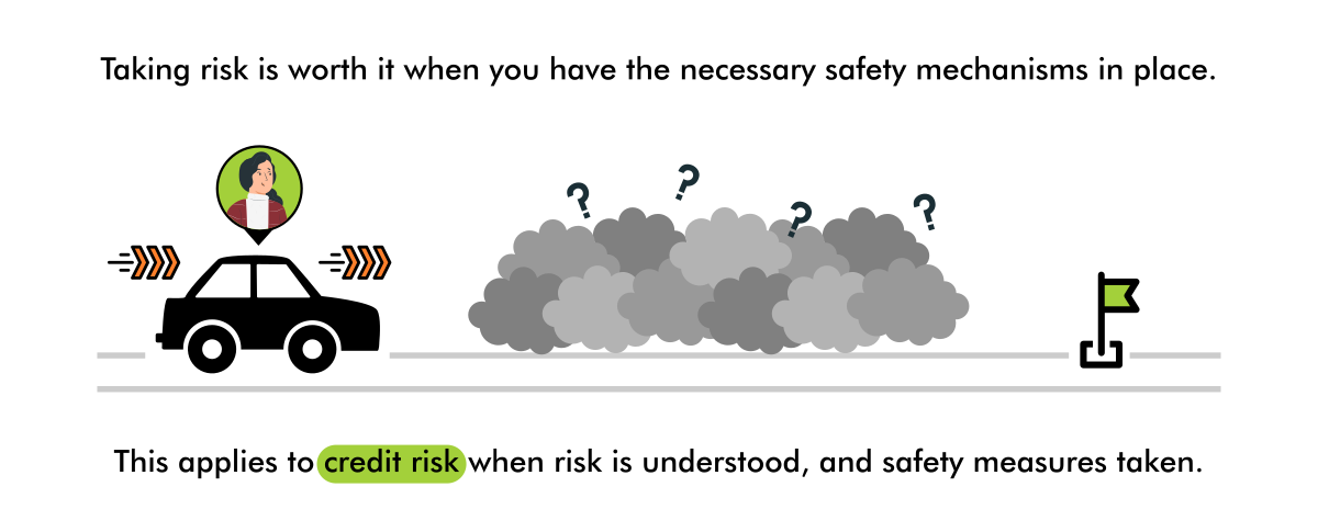 taking risks with safety - credit risk - ithought
